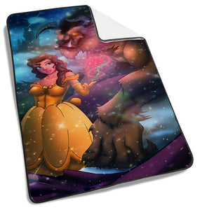 Disney Princess Beauty and The Beast Blanket