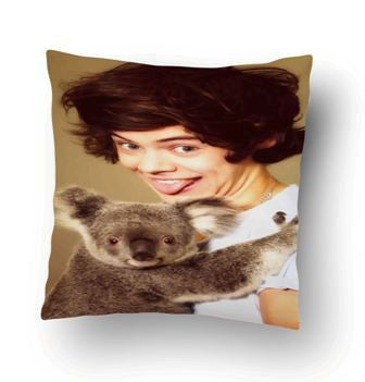 1D One Direction Harry Styles And Koala Pillow Cover
