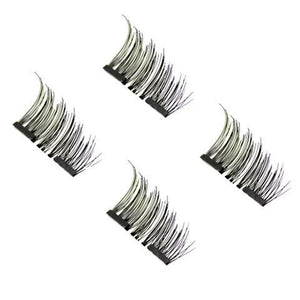 3D Reusable Magnetic False Eyelashes (Half Lash) - RimeArodaky
