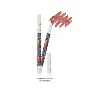 HUAMIANLI 9 Colors Makeup Eyeliner Pencil Waterproof Eyebrow Beauty Pen Eye Liner Colorful Shimmer Giltter Eyeshadow Pencil - RimeArodaky