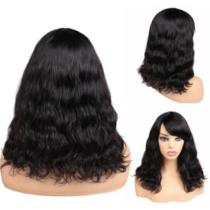 Hair Human Hair Wigs Loose Deep Waev Wigs Middle Part 100% Brazilian Remy Hair Glueless Wig Natural Color - RimeArodaky