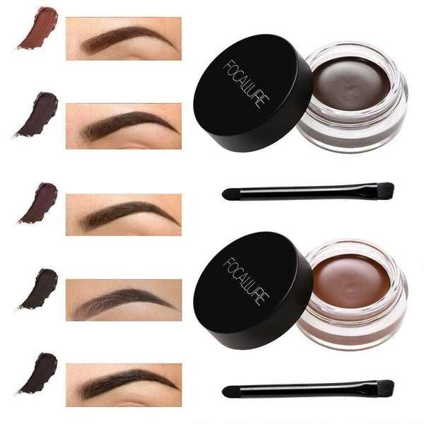 Focallure Eyebrow Gel Quick Drying Natural Stereo Eyebrow Dye Thrush Artifact - RimeArodaky