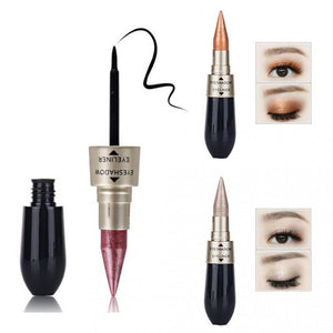 Eye Makeup Cosmetic Eyeliner Pencils Double Combination - RimeArodaky