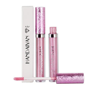 Diamond Pearl Lip Gloss Non-Stick Cup Mermaid Lip Gloss Lipstick - RimeArodaky
