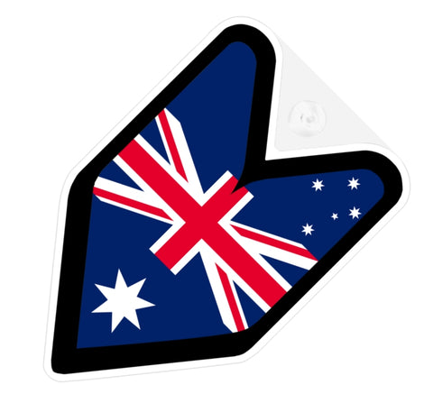 Australia Flag JDM Decal Badge