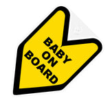Baby On Board JDM Decal Badge