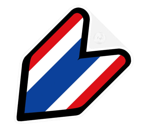 Thai Flag JDM Decal Badge