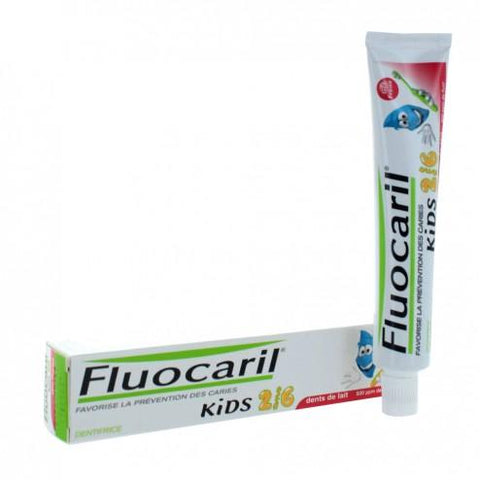 FLUOCARIL KIDS 2/6 DENTIFRICE FRAISE