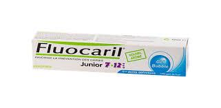 FLUOCARIL JUNIOR 7/12DENTIFRICE BUBBLE GUM