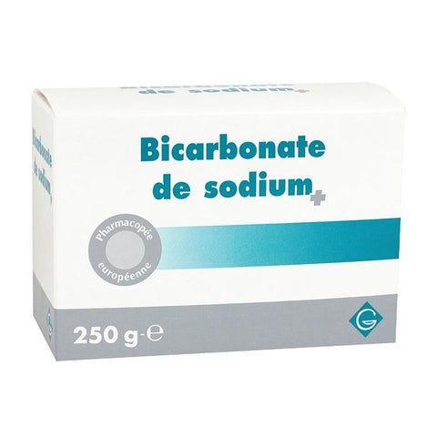 BICARBONATE SODIUM GILBERT BTE 250G
