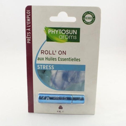 PHYTOSUN AROMS HUILE ESSENTIEL STRESS ROLL-ON/4ML