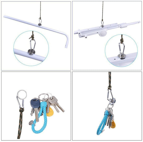 Amenitee High Performance Gravity Hook, Multifunctional Stainless Steel