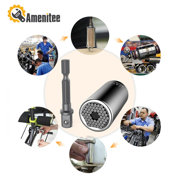 Amenitee Universal Socket, Multifunctional Universal Sockets