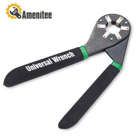 Amenitee Universal Wrench, 16 Wrench Sizes