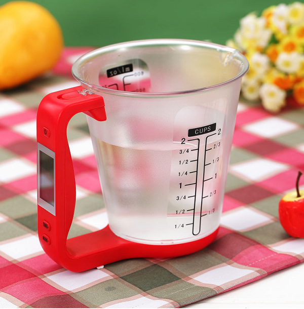 Multi-functional Measuring Cup, LCD Display
