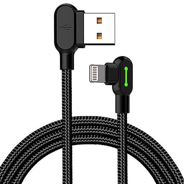 quality design 0b1c6 1bfec 90 Degree iPhone & iPad Charging Cable