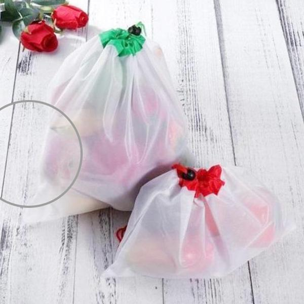 Reusable Fruit, Vegetable, Grocery Bag , Eco-friendly Mesh Bag