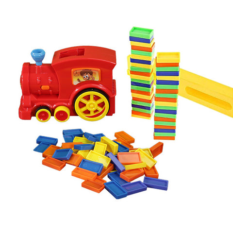 Automatic Licensing Dominoes Toy Train, Early Educational Toy & Perfect Birthday Gift