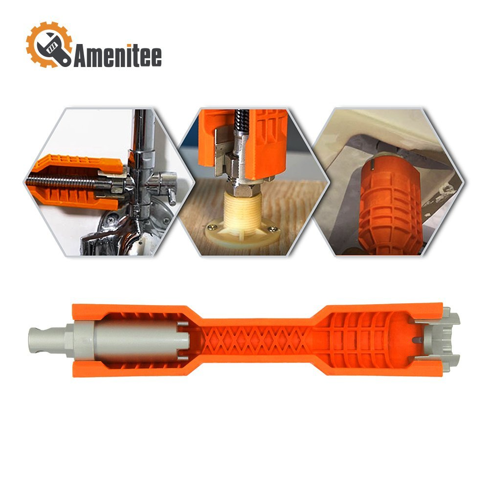 Amenitee 2017 New Faucet and Sink Installer, Orange