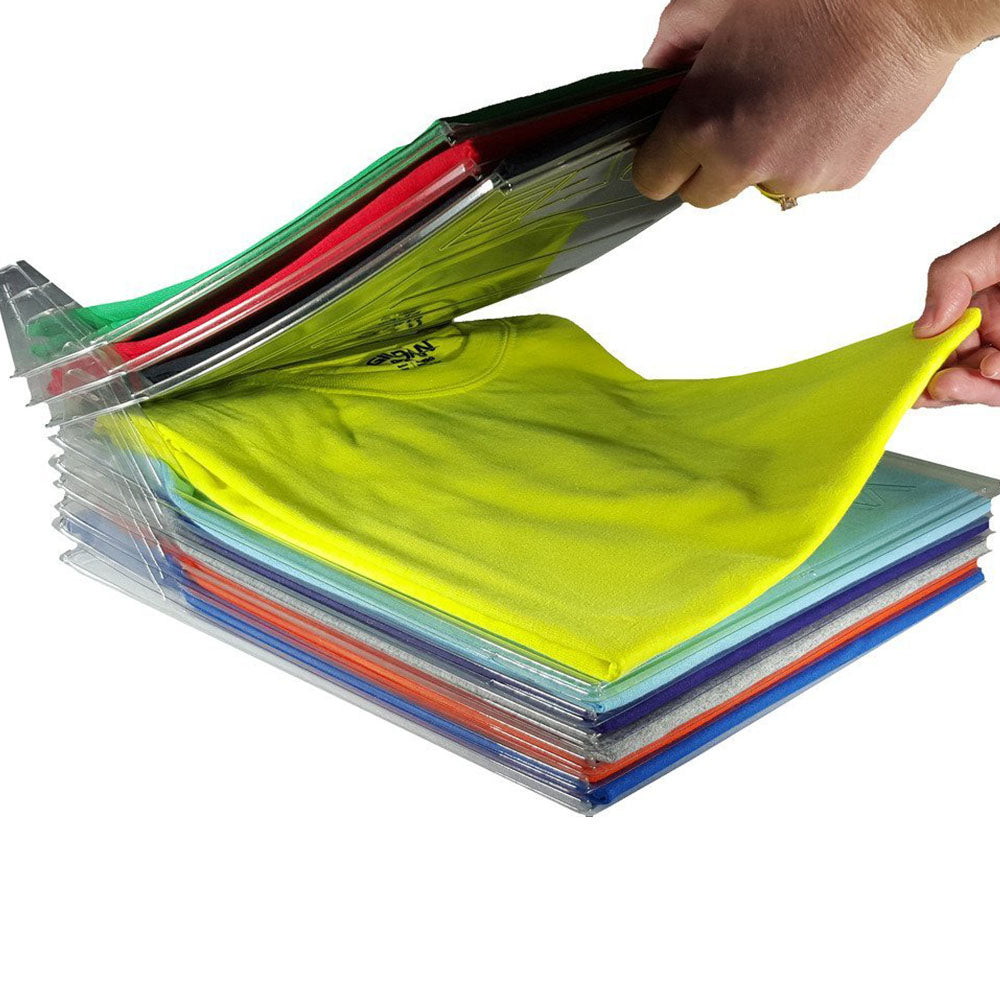 AShomie Easy Shirt Folder and Closet Organizer (10 Packs)