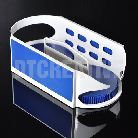 AShomie Twin-Roller Rotation Storage Basket