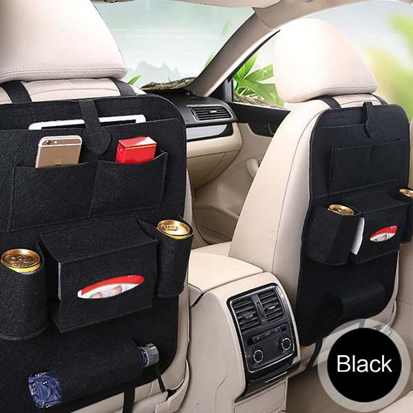 Car Back Seat Organizer, No More Mess