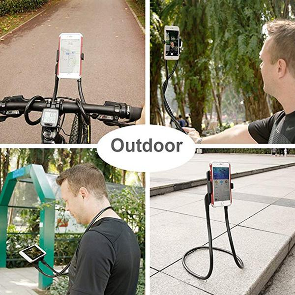 Lazy Neck Phone Holder, Universal Phone Stand