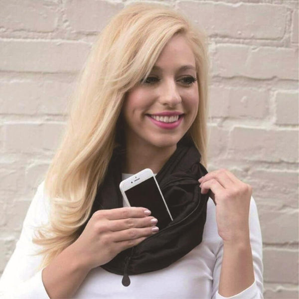 Scarf To Go - Pocket Infinity Scarf