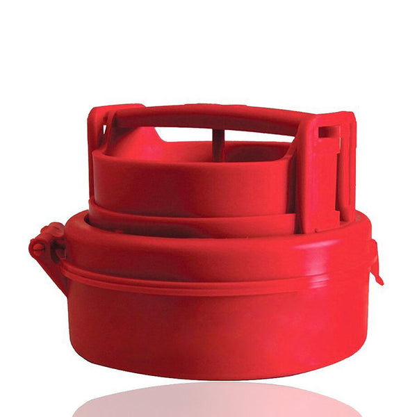 Edenware Easy Burger Press, Red