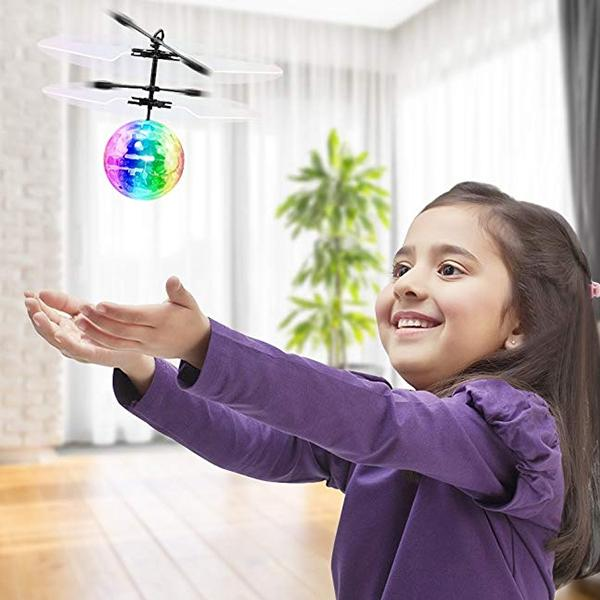 Flying Ball, Light Up Ball Drone For Kids, Gift