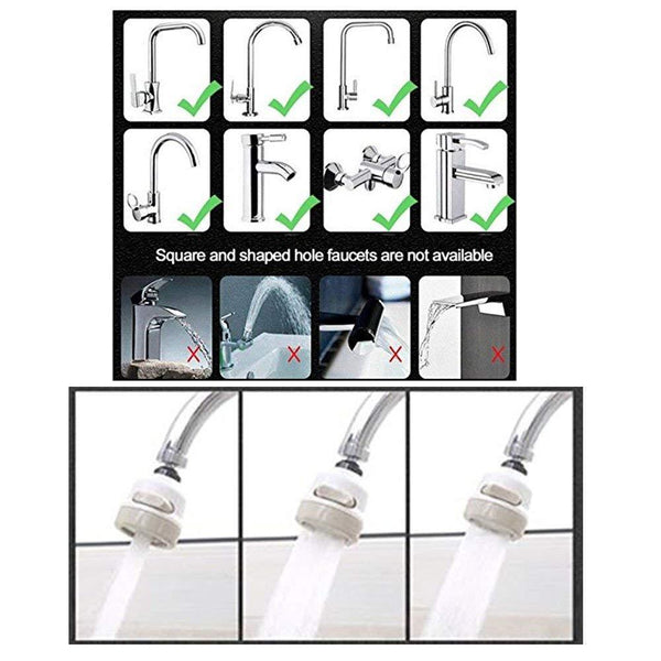 Faucet Extender Water Saving Tools