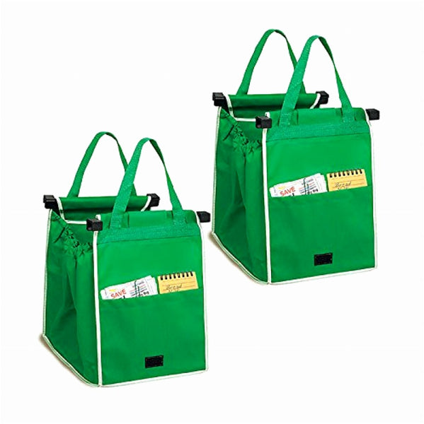 Grab Bag Reusable Shopping Bags (Set of 2)