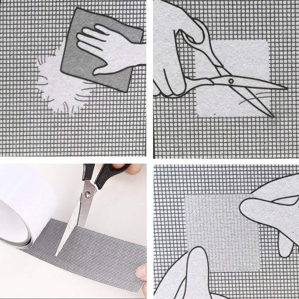 Repair Your Window and Door Screen with Magic Patches