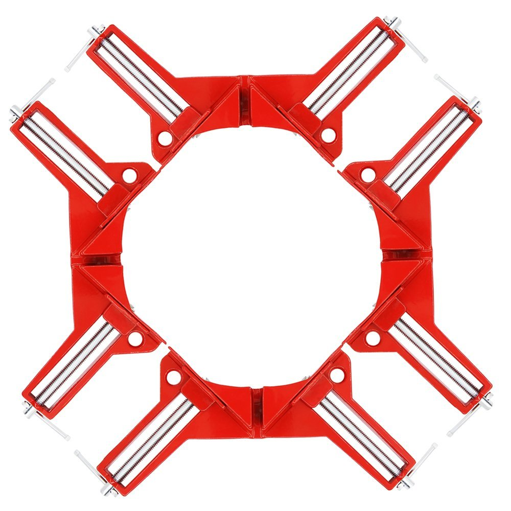 90-Degree Right Angle Clamp, DIY Project (Set of 4)