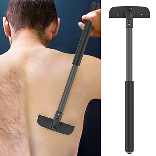 Amenitee Stretchable Back Blade, Luxury Matte Black