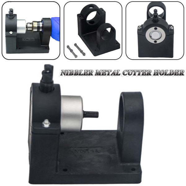 Double Head Sheet Nibbler Metal Cutter with Holder