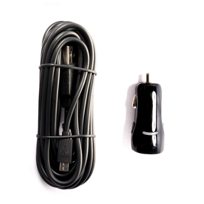 USB cable & car adapter