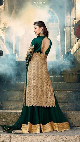Green Anarkali Salwar Suit Online