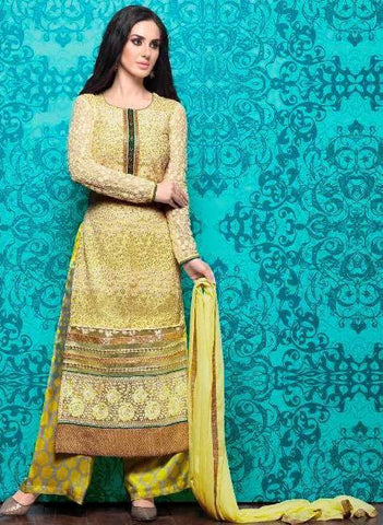 Yellow,Net,Designer suits,suits,party wear,salwar suits,wedding ,heavy suits,vipul