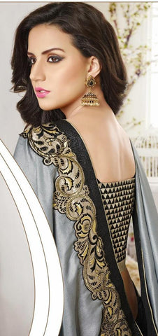Divine couture saree 3407