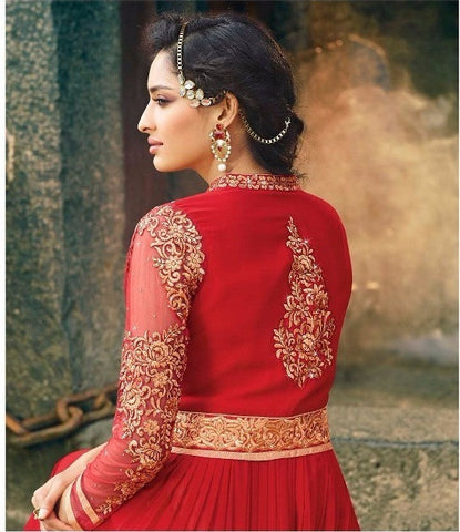 Red Salwar Suit Online