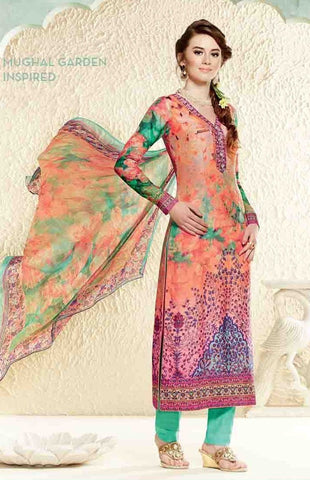 Suits Multi Colour,Cotton Silk