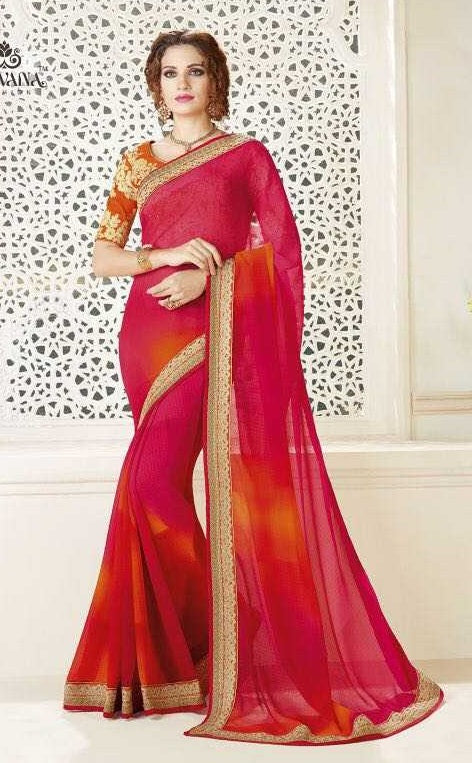 53cf1c316ba462 Online Shopping Party   Wedding Saree On Cash On Delivery Below 4000 ...
