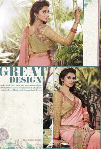 VS Saree 2814