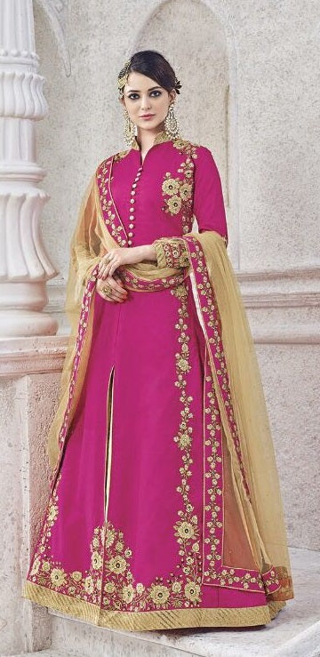 e576fb1f37 Buy Online Pink Suits For Women In Newark US – Banglewale International