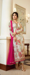 Light Grey Georgette Party Wear Suits Salwar Suit With  Dupatta