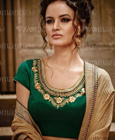 womaniya saree 9027