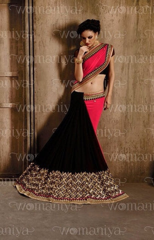 womaniya saree 9029