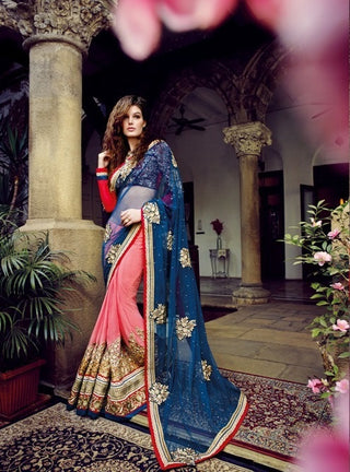 Purple Bridal Saree 852