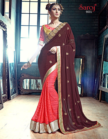 Ada Saree 9027 and Ada Saree 9031 Combo Offer